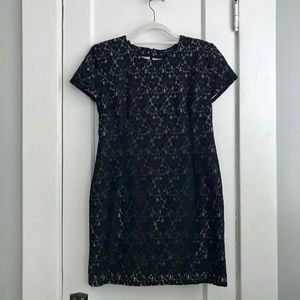 French Connection Black Lace Dress | Size 10